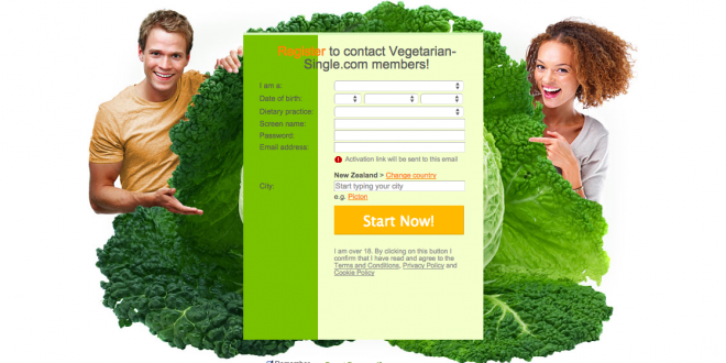 Free vegan dating sites